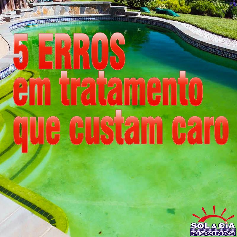 5 erros no tratamento da piscina que acabam custando caro