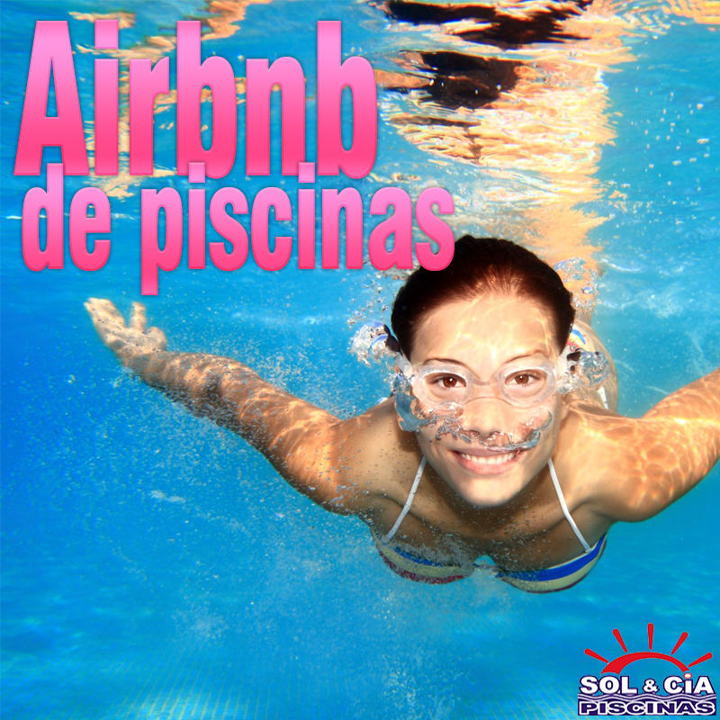 Airbnb de piscinas chega ao Brasil