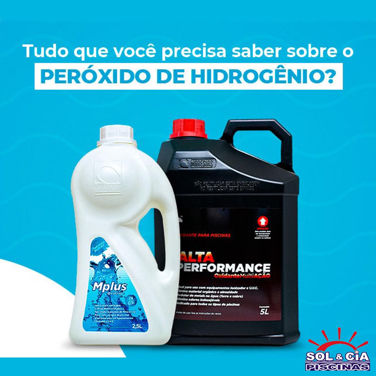 Tratamento com Peróxido de Hidrogênio para Piscinas!